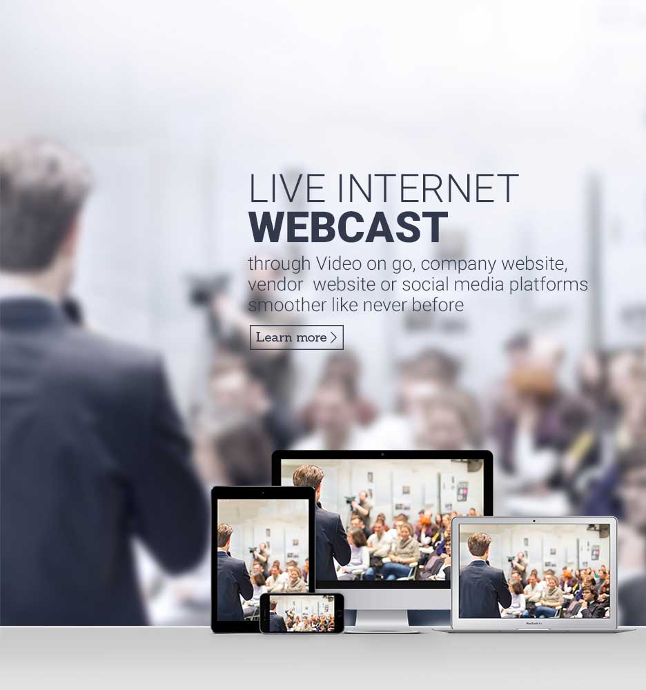 Live-Internet-Webcast
